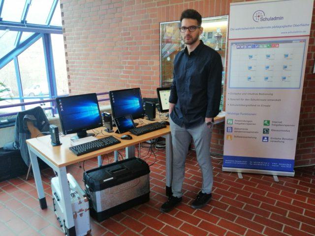 Schuladmin auf der ILTB 2019 in Bayreuth